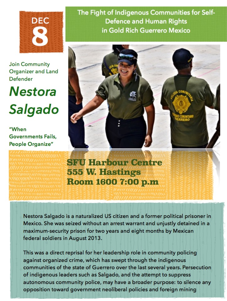 Nestora Salgado poster